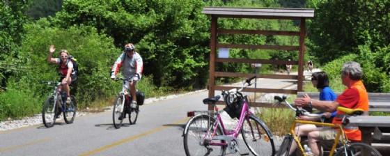 I ciclisti durante una delle passate edizioni (© Asd Ciclo Assi Friuli)