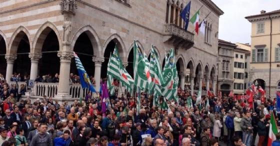 Le celebrazioni del 25 aprile 2015 a Udine (© Diario di Udine)