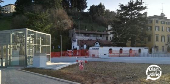 Il uovo parcheggio di piazza Primo Maggio (© Diario di Udine)