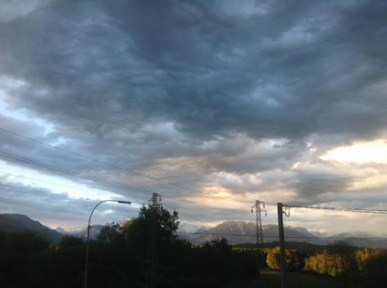 Da San Daniele con vista sulle montagne di Gemona