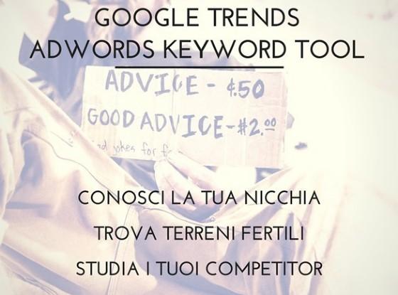 Google Trends e Adwords Keyword Tool