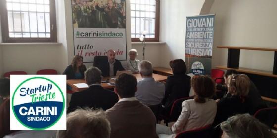Presentata la lista StartUp Trieste