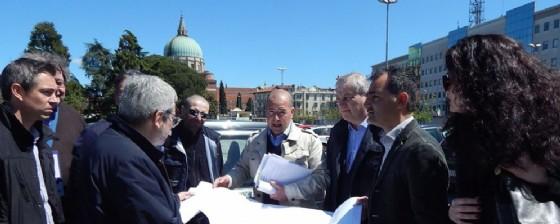 Il sindaco e l'assessore Pizza (© Comune di Udine)