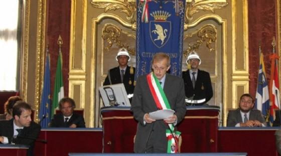 Fassino in Sala Rossa (© Spazio Torino)