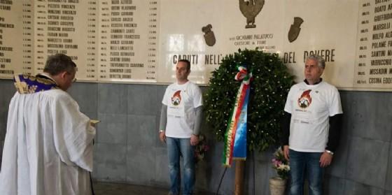 La cerimonia organizzata a Trieste