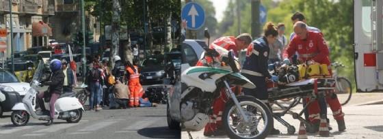 L'incidente è avvenuto in corso Moncalieri, all'angolo con il Ponte Umberto I