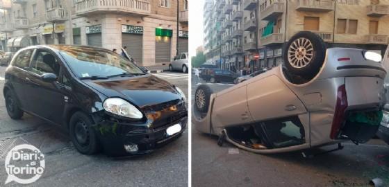 L'incidente è avvenuto tra via Tunisi e via Madonna delle Rose (© Diario di Torino)