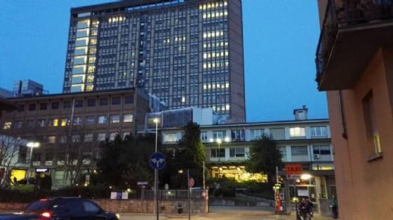 L'operaio è stato trasportato all'ospedale Cto (© Diario di Torino)