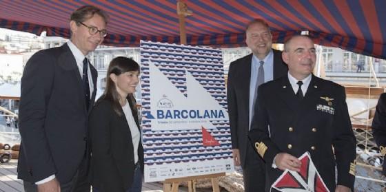 La presentazione del nuovo manifesto della Barcolana (© Barcolana)
