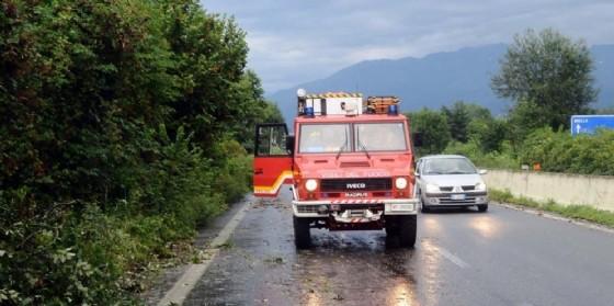 Vigili del fuoco (immagine di repertorio)