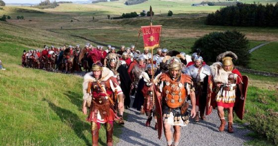 La I Legio Italica per la prima volta alla Festa Celtica di Beltane