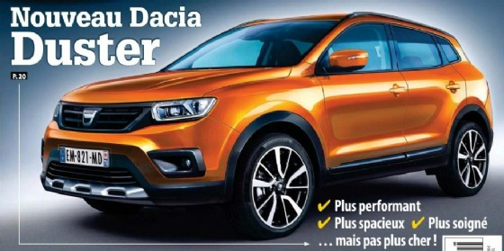 La Dacia Duster 2 secondo i francesi di AutoPlus (© AutoPlus)