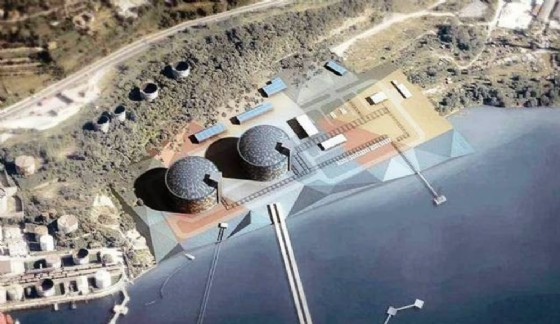 Ecco il progetto del rigassificatore di Zaule (© Ambiente Ts)