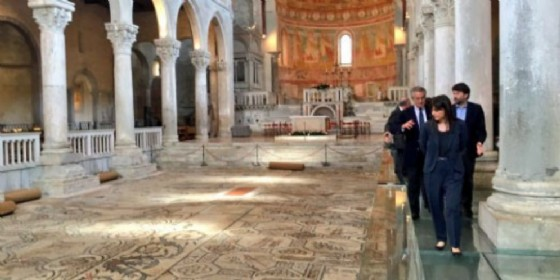 La visita del ministro Franceschini (© Regione Friuli Venezia Giulia)