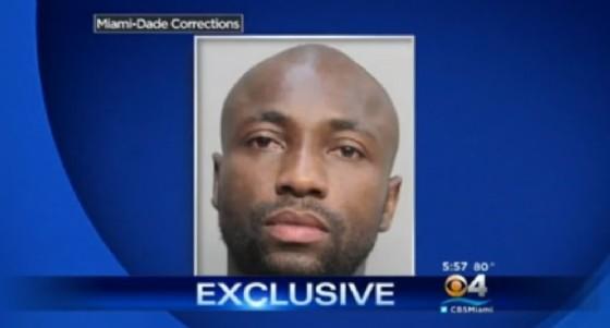 La notizia dell'arresto dato dalla tv americana (© Cbs)