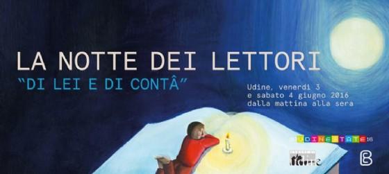 Torna la notte dei lettori (© Comune di Udine e Bottega errante)
