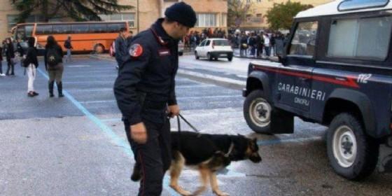 Operazione antidroga dei carabinieri a Udine (© Diario di Udine)