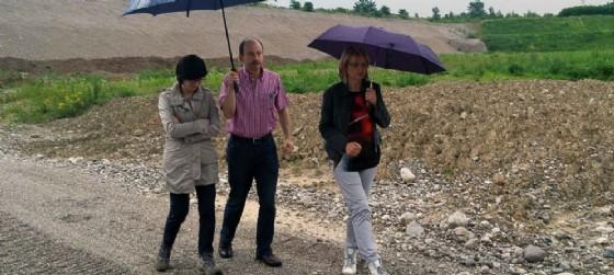 La visita dell'assessore Sara Vito alle cave di Rovereto in Piano