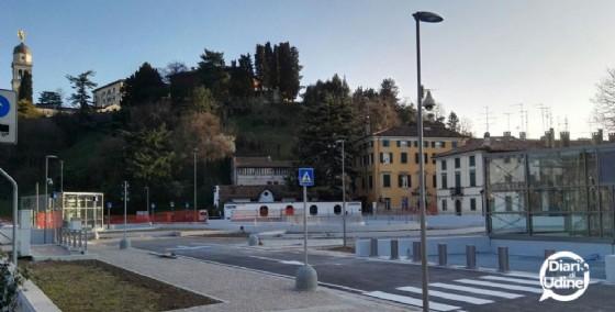 Il nuovo parcheggio in Giardin Grande (© Diario di Udine)