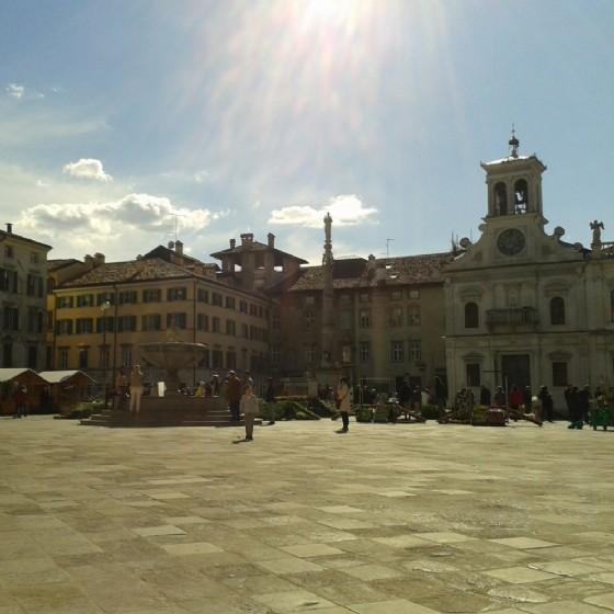 Piazza San Giacomo a Udine (© Diario di Udine)