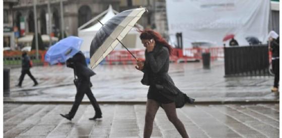 In arrivo un fine settimana di pioggia e vento