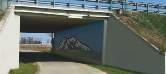 Il murales sarà realizzato in autunno