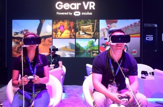 Virtual reality games got very real at E3 this year as studios showed off titles tailored for Oculus Rift, HTC Vive, PlayStation VR and Galaxy Gear VR headsets ©rederic J. Brown (AFP)