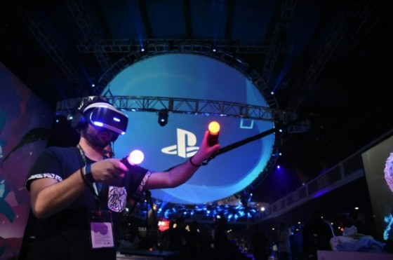 Sony promised over 50 games will be available for the PlayStation VR within months of its October 13 launch, including zombie-shooter «Resident Evil,» and games based on the «Star Wars» franchise and the «Batman» series ©Robyn Beck (AFP)