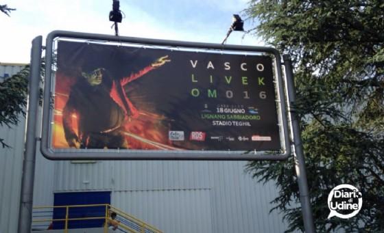 Bagarini denunciati per il concerto di Vasco a Lignano (© Diario di Udine)