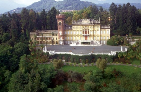 La Villa della Malpensa e parte del suo parco (© Diario di Biella)