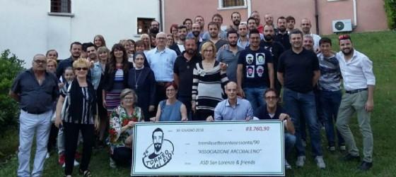Raccolta fondi e pedalata di beneficenza a favore della onlus L'Arcobaleno di Porcia (© L'Arcobaleno Onlus Porcia)