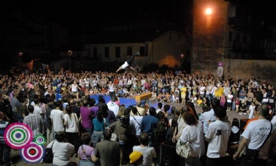 Un'immagine dell'edizione passata dello Street Art Festival (© Diario di Biella)