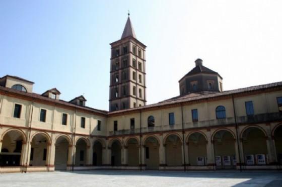 Il Chiostro di San Sebastiano, parte centrale del Museo del Territorio (© Diario di Biella)