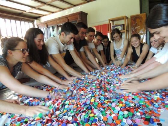 Un'immagine della performance degli studenti che si terrà venerdì 1 luglio (© Diario di Biella)