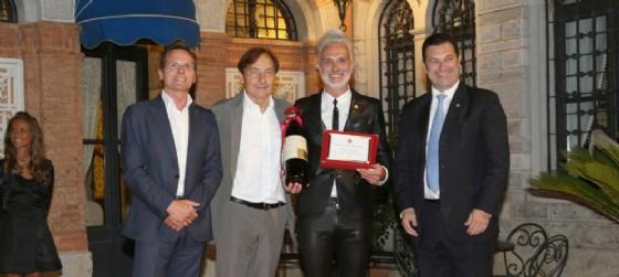 A Marco Simonit il Premio Giacomo Casanova 2016, assegnato il 1° luglio al Castello di Spessa (© Ufficio stampa Premio Casanova)