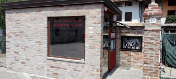 La casetta del vino di Cussignacco, inaugurata pochi giorni fa, è la prima in Fvg (© La casetta del vino | Facebook)