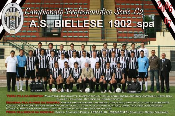 L'A.s. Biellese 1902, campionato 2006-2007