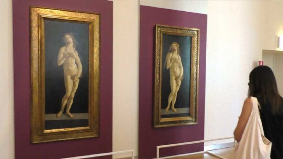 La mostra «Venere incontra Venere» alla Galleria Sabauda (© Diario di Torino)