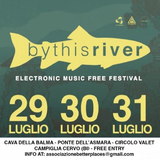 By This River, il festival elettronico in programma in Valle Cervo