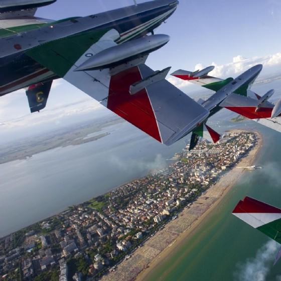Le Frecce Tricolori a Lignano: lo show sarà blindato (© Archivio PAN)