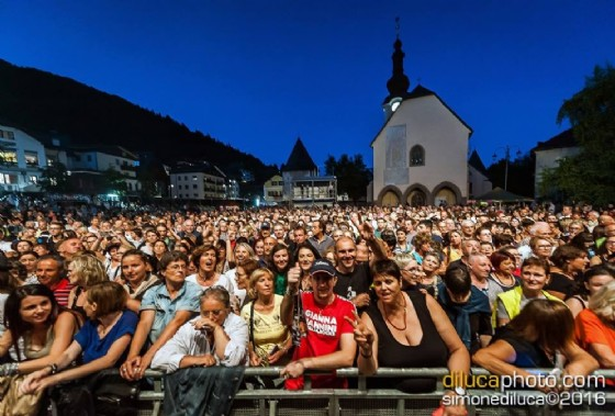 Tarvisio durante le giornata dei concerti (© Di Luca)