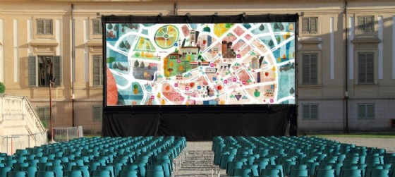 Ancora cinema all'aperto a Udine