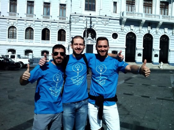 I fondatori: Jacopo, Tommaso, Francesco (© Credits photo courtesy of Lectios)