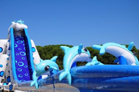 Lo scivolo gonfiabile più grande d'Europa (© Lignano)