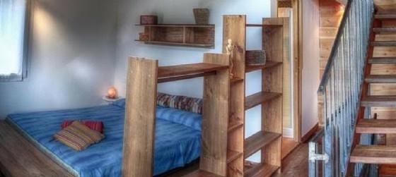 Una camera dell'Albergo Magredi di Vivaro (© Confcooperative Pordeone)