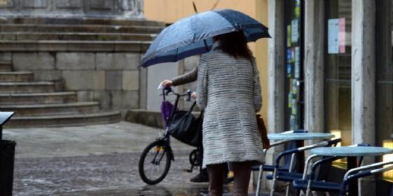 Giornata di pioggia e vento quella di mercoledì in Fvg (© Diario di Udine)