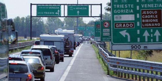 Le previsioni del traffico per il week end di Ferragosto (© Diario di Udine)
