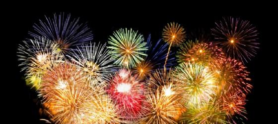 Fuochi d'artificio al Festival di Majano