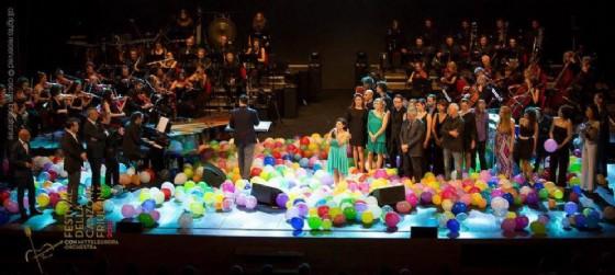 Una delle serate della passata edizione del Festival della Canzone Friulana