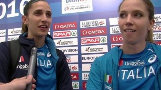 Le due atlete friulane Trost e Rossit (© atleticanotizie)